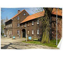 Gross Isselhof, Meerbusch, NRW, Germany. Poster