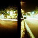 Late Night Tail Lights - Lomo by Yao Liang Chua