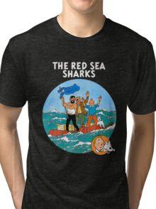 tintin adventures Tri-blend T-Shirt