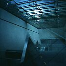 Escalator to Nowhere - Lomo by Yao Liang Chua