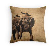 Vikings Of Jarrow Throw Pillow