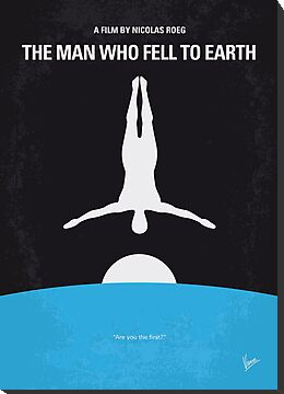 No208 My The Man Who Fell to Earth minimal movie poster by Chungkong