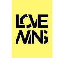 Love Wins Photographic Print