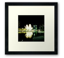 Art Science Museum - Lomo Framed Print