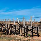 Wood bridge on Route, 66, Endee, NM by swtrekker
