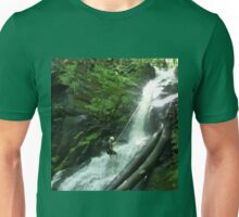 Waterfall Rappel  Unisex T-Shirt