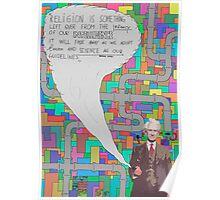 Bertrand Russell (BertrARTnd BRussell) Poster