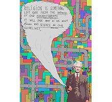 Bertrand Russell (BertrARTnd BRussell) Photographic Print