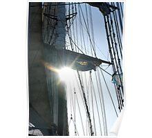 sun thru the saila Poster