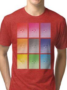 Wet heart - rainbow dash Tri-blend T-Shirt