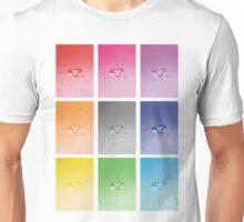 Wet heart - rainbow dash Unisex T-Shirt