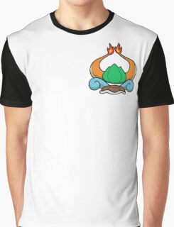 Pokemon Starter Crest Graphic T-Shirt
