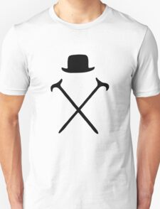 Bowler Hat and Canes T Shirt T-Shirt