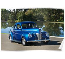 1940 Ford Deluxe Coupe II Poster