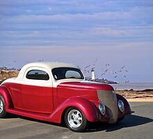 1937 Ford 'Chopped Top' Coupe by DaveKoontz