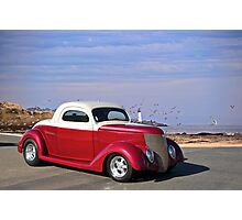 1937 Ford 'Chopped Top' Coupe Photographic Print