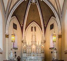 Loretto Chapel on Route 66, Santa Fe, NM by swtrekker