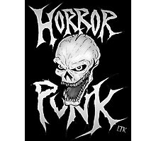 Horror Punk Photographic Print