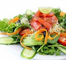 Smoked Salmon Salad by psctran