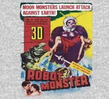 Robot Monster by Chivieri Designs