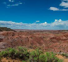 Tiponi Point, Painted Desert, on Route 66, AZ by swtrekker