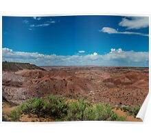 Tiponi Point, Painted Desert, on Route 66, AZ Poster