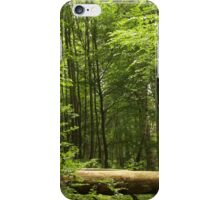 Green Woodland iPhone Case/Skin