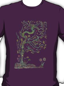 Trees flowers T-Shirt