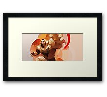 The Russian Wrestler Framed Print