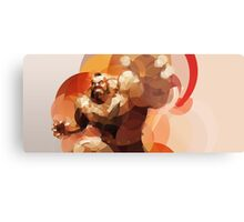 The Russian Wrestler Metal Print