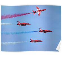 Red Arrows low fly past Poster