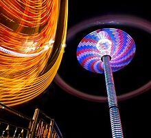 Amusement Park Ride by Paul Eekhoff