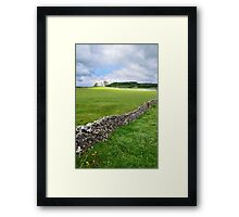 Flash of Light Framed Print