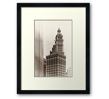 Chicago_Wrigley Building Framed Print