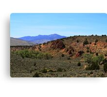 Pinnacles,North of Reno Nevada USA Canvas Print