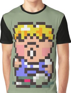 Pokey Minch - Earthbound/Mother 2 Graphic T-Shirt