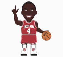 NBAToon of Victor Oladipo, player of Indiana Hoosiers by D4RK0