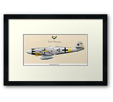 Ace of Aces Framed Print