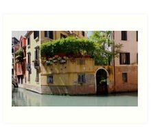 "Venice ""streetscape"". Art Print"
