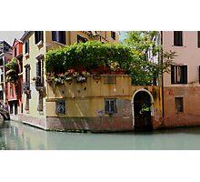 "Venice ""streetscape"". Photographic Print"