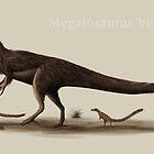 Megalosaurus bucklandii by ChrisMasna