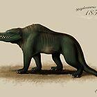 Vintage Megalosaurus by ChrisMasna