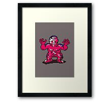 Fierce Shattered Man Framed Print