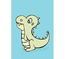 Dinosaur Cutie Photographic Print