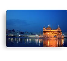 The Golden Temple of Amritsar Canvas Print