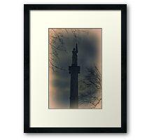 Civil War Memorial, Memorial Park, Clarion, PA Framed Print