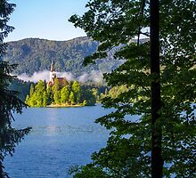 Lake Bled by Rachel  Chaikof