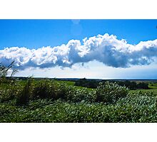 Hawaii Cloudy Sky Photographic Print