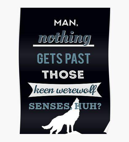 Teen Werewolf Senses Poster