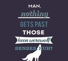 Teen Werewolf Senses Unisex T-Shirt